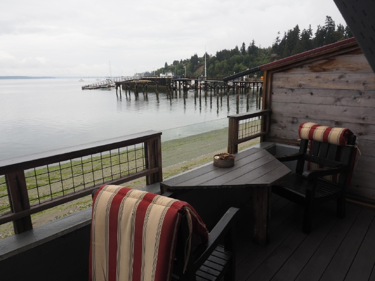 Food? Check. Coffee? Check. Sweet digs? Check. Cute town? Check. Amazing views? Check Check Check Check. We were thoroughly impressed with Whidbey's versatility.  (Image: Kate Neidigh)
