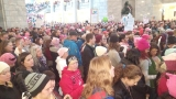 Women's march draws unprecedented numbers to state Capitol