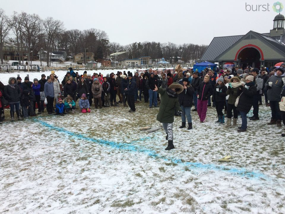 The 25th annual Ice Breaker Festival is happening this weekend in South Haven, and the streets are filled with ice sculptures, chili tasting and lots of winter fun.