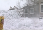 Ice shoves, home destroyed