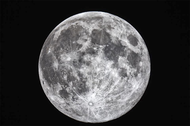 """Tonight we had a Harvest Moon. It is called the Harvest Moon because it is the first full moon closest to the Autumnal Equinox,"" said Ian Ludwig."
