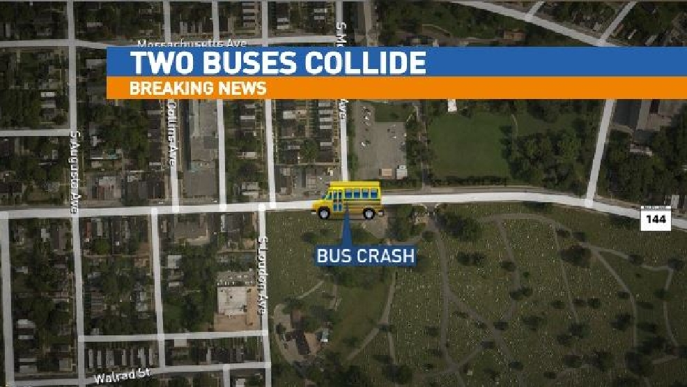 School Bus Mta Bus Involved In Serious Crash In Sw