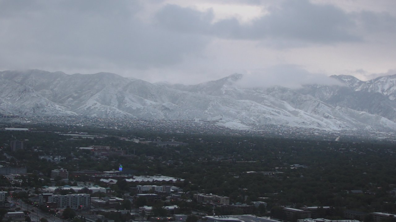 Central and Southern Utah pounded with first big snow fall of the year (Photo: KUTV){ }