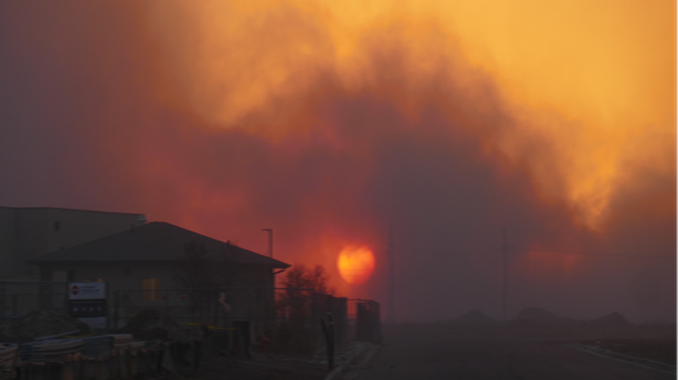 Schools delaying classes due to wildfires   KVII