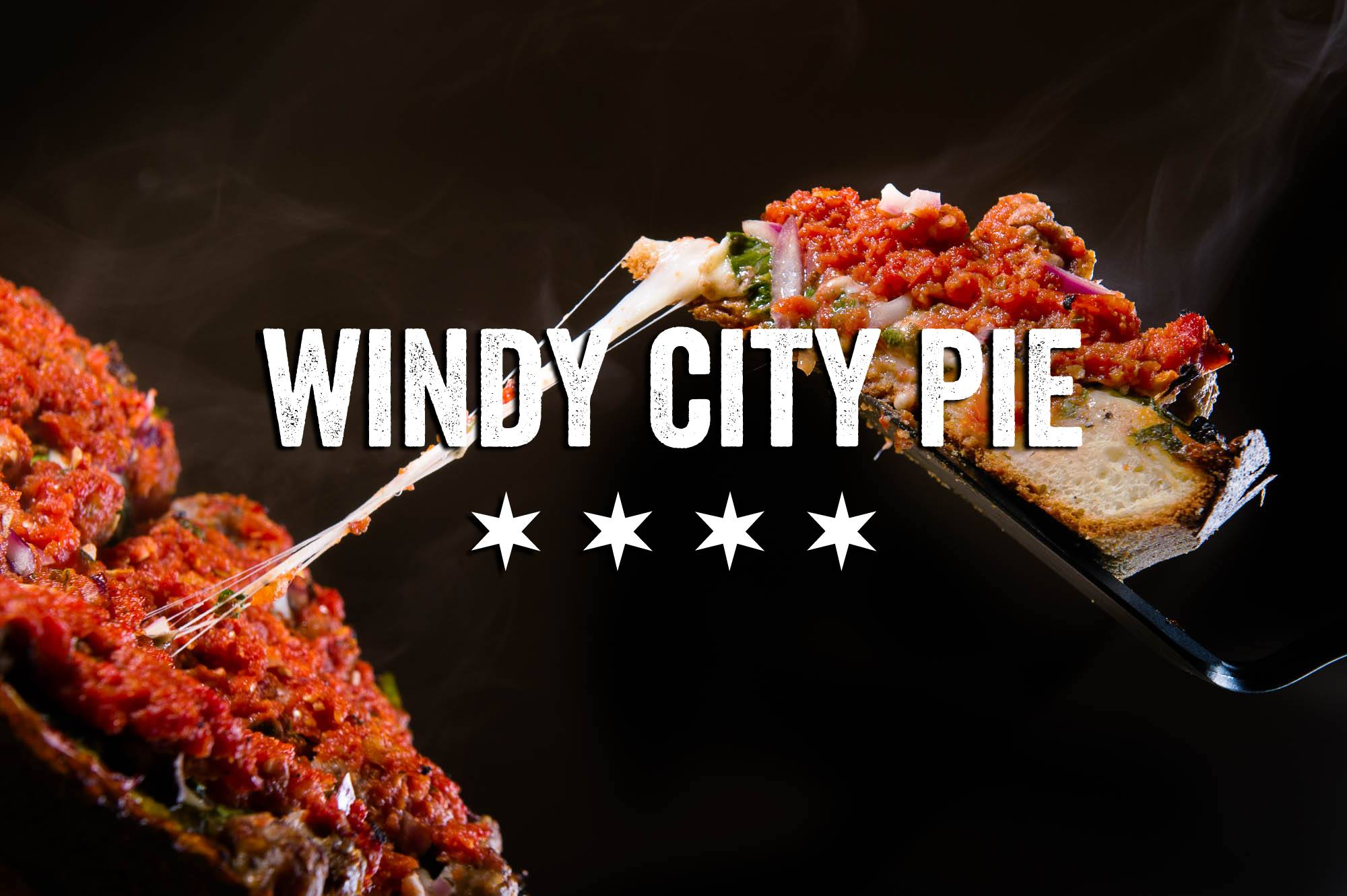 Pizza pizza pie! (Image courtesy of Windy City Pie).