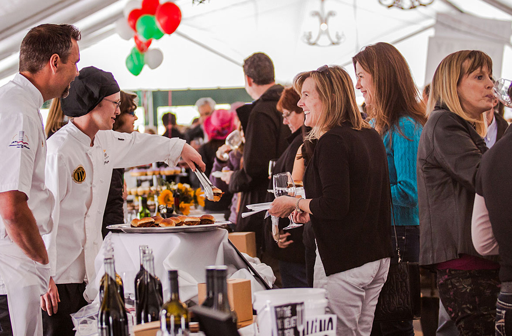 Feast Weekend in Walla Walla is an exclusive multi-course, wine-paired dinner and a big party! This year's Feast is April 11-12, and features bites and sips from fifty local restaurants, wineries and breweries.