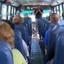 Bus drivers with Gates Chili School District go through active shooter training