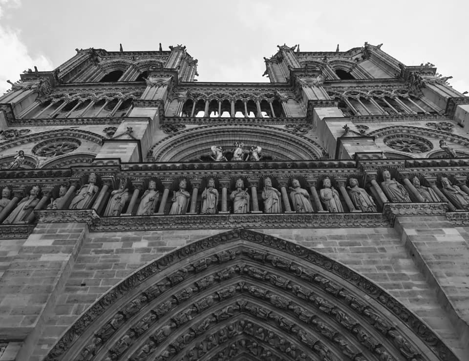 """A beautiful model that was inside."" Locals shared their memories and photos of the historic Notre Dame on April 15, 2019 after hearing the gothic Parisian cathedral suffered serious damage after a fire.(Image - James Wright)"