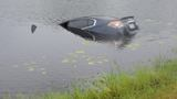 Man loses control of car, drives into canal