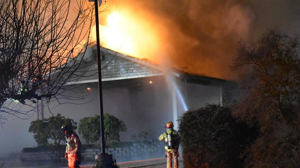 Potential arson destroys Kingdom Hall of Jehovah's Witnesses in Lacey