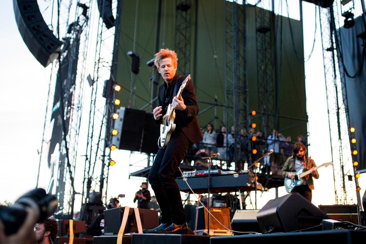 SPOON performs at the second day of the annual Sasquatch! Music Festival. The three-day festival runs throughout the Memorial Day Weekend, from May 25-27, 2018. (Sy Bean / Seattle Refined)