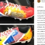Multiple Redskins players wearing custom footwear for 'My Cause My Cleats' week