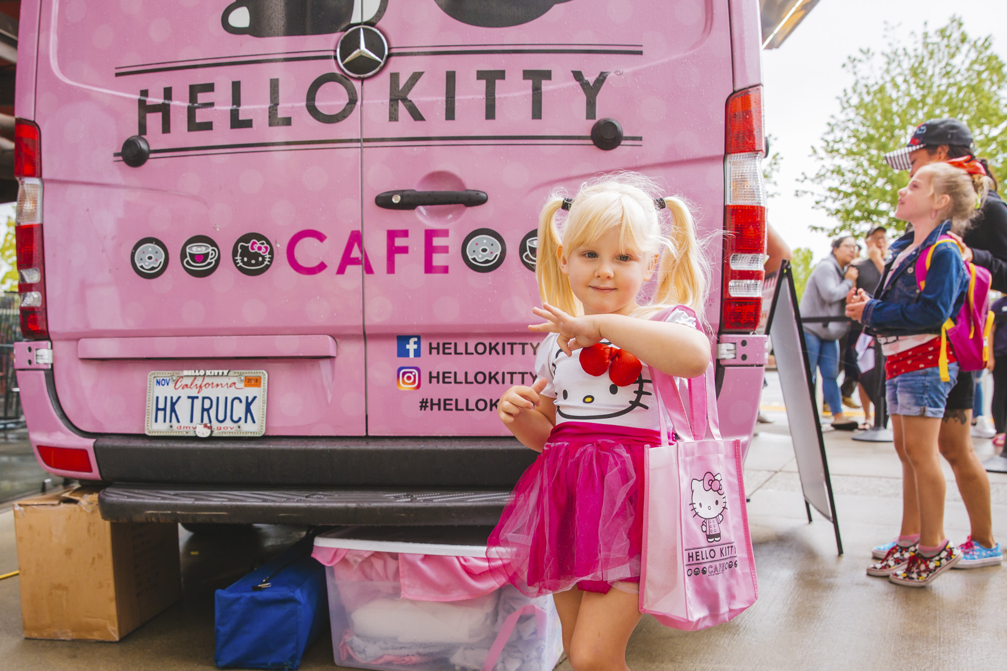 <p>It's SO much more than a truck! The Hello Kitty Cafe truck is back in town this weekend at Southcenter Mall! Fans found the like of a Giant Hello Kitty Chef cookie, lunchbox with confetti popcorn, plus toys, petit fours, and many many other collectibles. From the lines we saw when we were out there, this Kitty has not lost any popularity over the years!{&nbsp;} Since it's launch as Sanrio's first food-related venture, two Hello Kitty Cafe trucks have traveled to more than 60 cities across both coasts. (Image: Sunita Martini / Seattle Refined)</p>