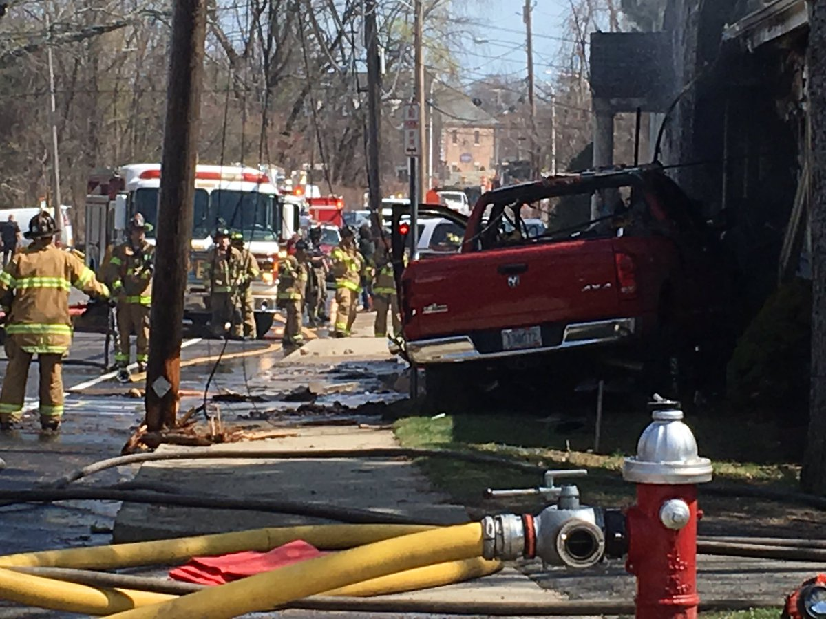 Warwick police have identified the driver behind the wheel of a truck that crashed on Tollgate Road causing a house fire. (WJAR)