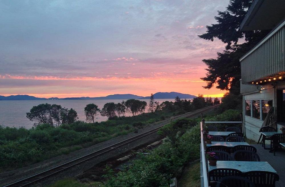 The beautiful Chuckanut Manor has some of the best views in Washington. (Photo Courtesy: Chuckanut Manor Facebook page)