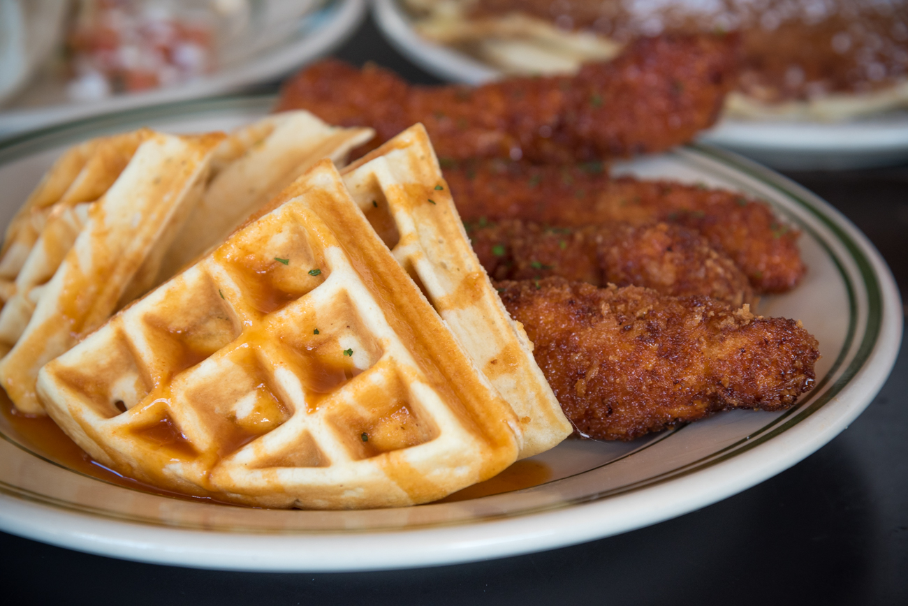 Chicken & Waffles / Image: Phil Armstrong, Cincinnati Refined // Published: 3.14.17