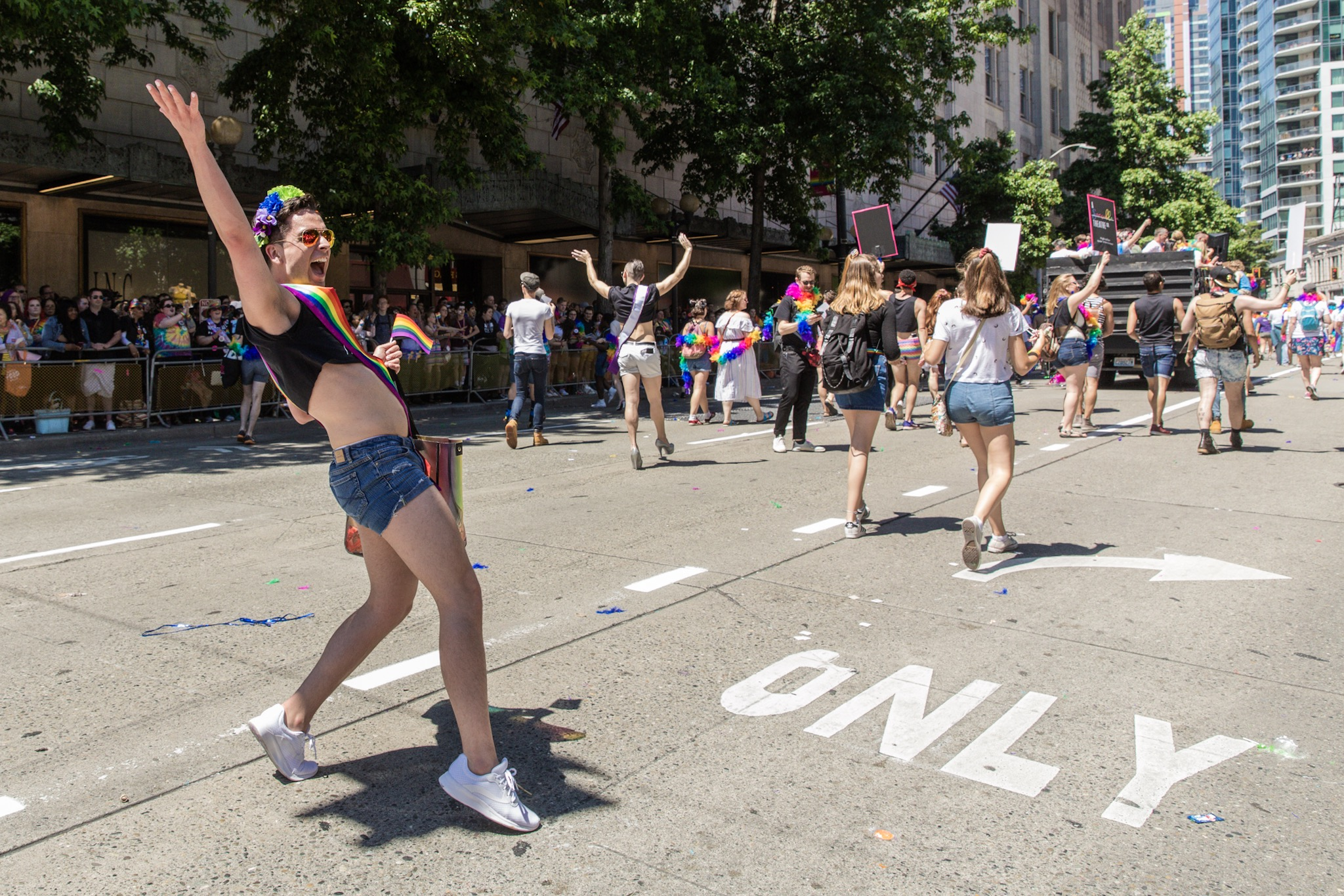 "2018 Seattle Pride Parade. We're celebrating what would have been the weekend of the{&nbsp;}<a  href=""https://www.seattlepride.org/"" target=""_blank"" title=""https://www.seattlepride.org/"">Seattle Pride Parade</a>{&nbsp;}with a look back at parades past and remembering all the joy and love they have brought our city! If you're missing it as much as we are - join in virtually!{&nbsp;}<a  href=""https://www.seattlepride.org/events/together-for-pride-seattles-virtual-pride"" target=""_blank"" title=""https://www.seattlepride.org/events/together-for-pride-seattles-virtual-pride"">Together For Pride - Seattle's Virtual Pride</a>{&nbsp;}event is being held Friday to Sunday, June 26-28, with speakers, performances and activities. See you next year! (Image: Sunita Martini / Seattle Refined)"
