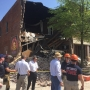 Popular downtown restaurant collapses during construction