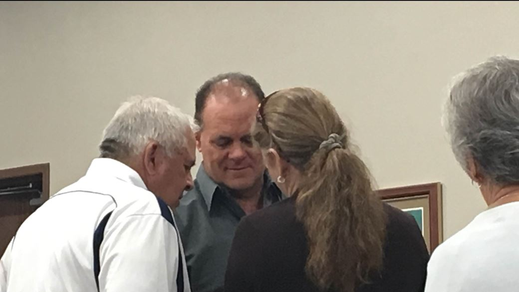 Carl Broussard had been charged with two counts of failure to stop and render aid, the official charge for hit and run, in the Nov. 2, 2015 deaths of Ava Lewis, 25, and her 6-year-old daughter LaMya Newhouse.  He was sentenced Monday to 10 years' probation. (KFDM photo)