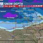 Parts of Iowa digging out from record April snow