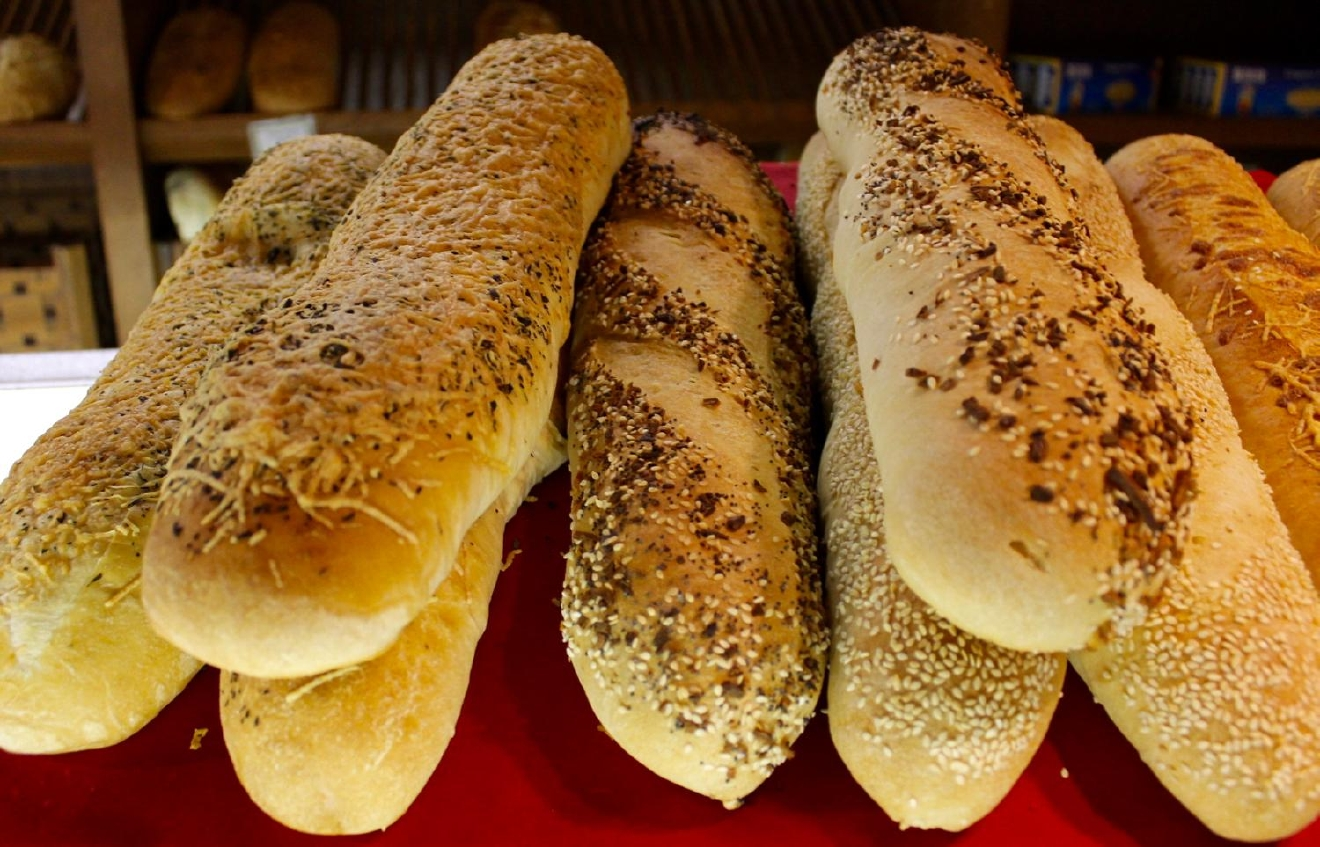 Seeded and cheese baguettes / Image: Rose Brewington