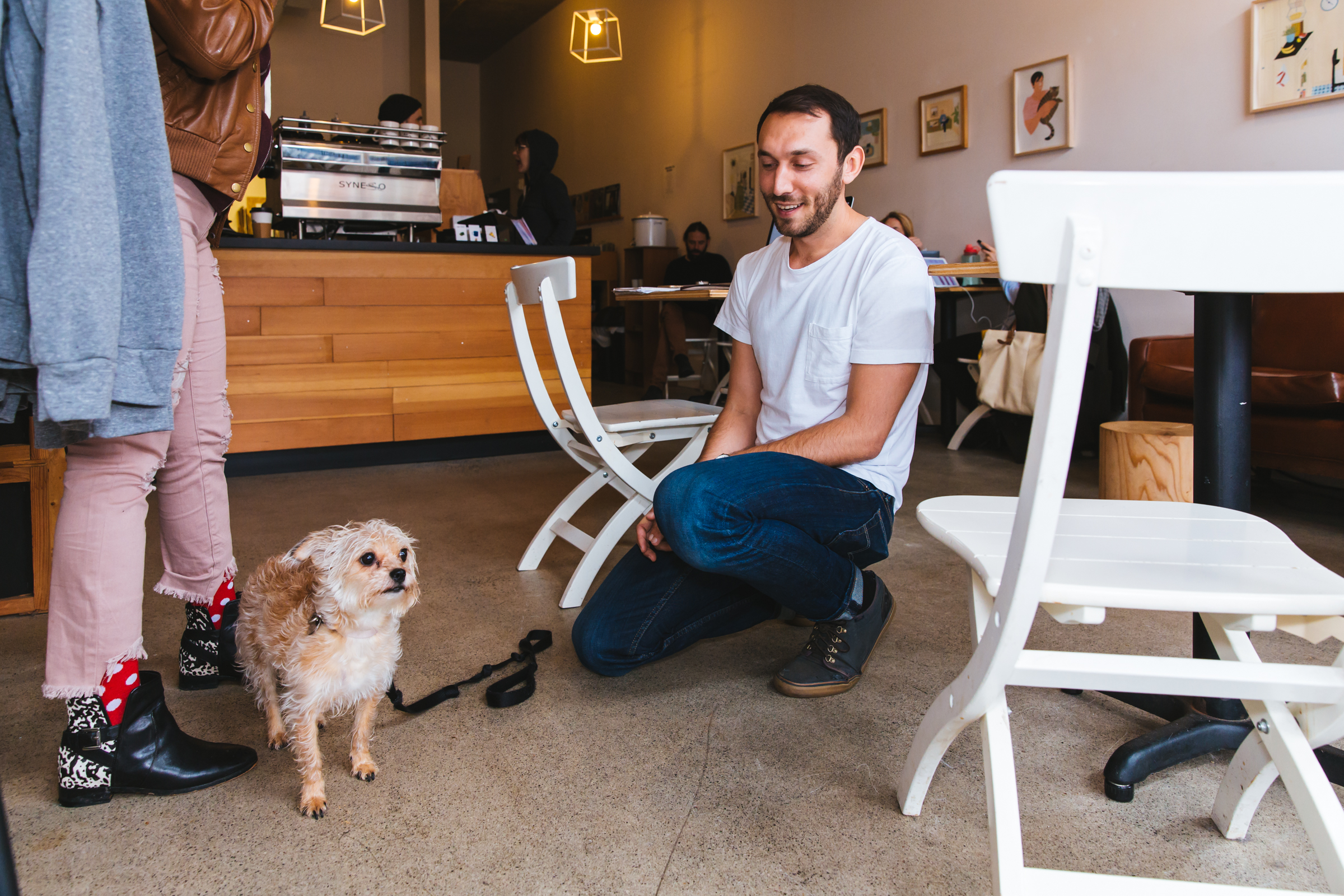 Nearly ten years into owning one of Seattle's favorite independent coffee shops, Zack Bolotin is more than a successful businessman and coffee lover. His shop, Porchlight Coffee & Records, is a Capitol Hill favorite on the edge of the Pike/Pine corridor, where he doles out espresso and cold brew alongside hand-selected vinyl in a bright, welcoming space. But get to know the man behind the counter and you'll find an artist, a curator, a record label, and more. (Image: Sunita Martini / Seattle Refined)