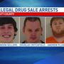 6 arrested for illegal drug sales in Piatt County