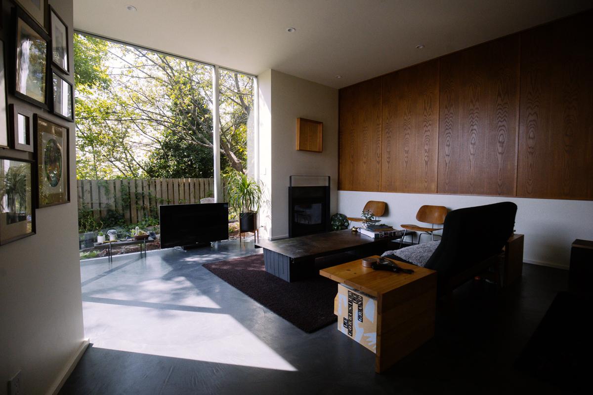 ^ Modern Home our: he Backyard House  Seattle efined