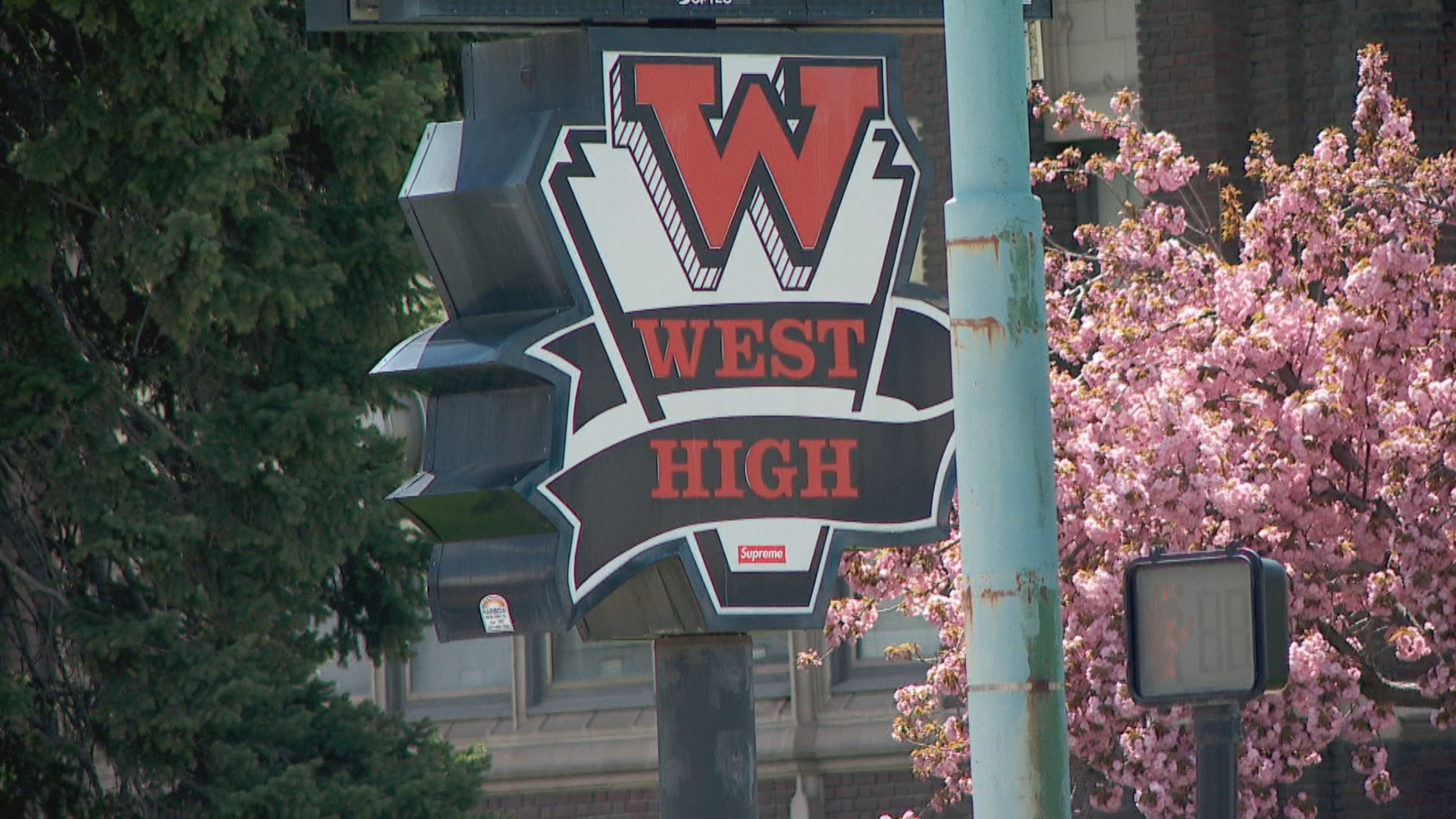 A West High School teacher was arrested Wednesday at the school for allegedly having an inappropriate relationship with a minor. (Photo: KUTV)