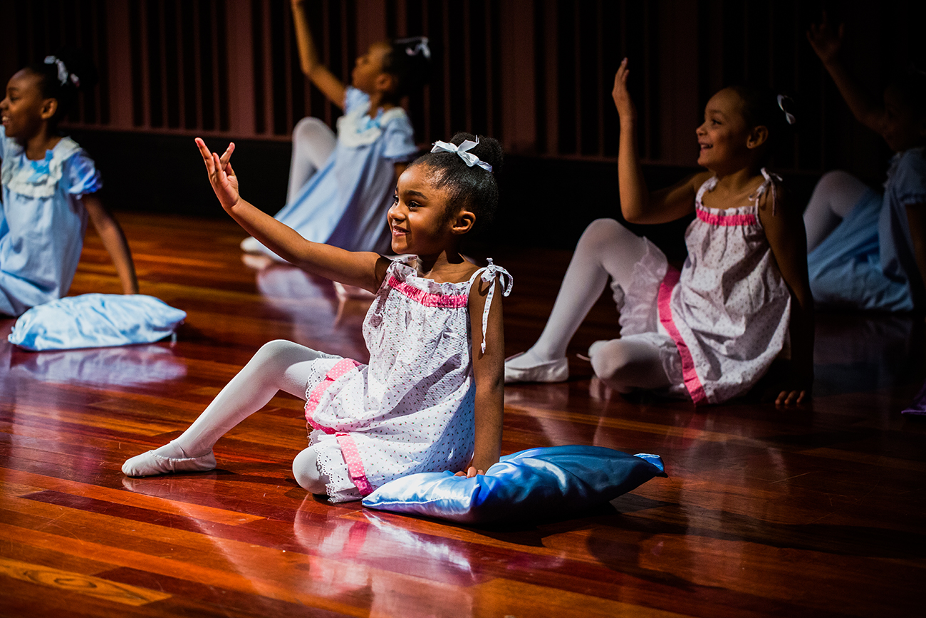 City Gospel Mission's Princesses Ballet is a free program that helps girls in Greater Cincinnati gain confidence through dance and faith. The group, which receives support from ArtsWave, performed at Freedom Celebration for ArtsWave Days. / Image: Bergette Photography