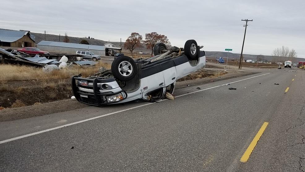Weiser drivers seriously injured in eastern Oregon crash | KBOI