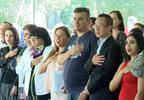 New American citizens recite pledge of allegiance at naturalization ceremony, Nov. 1, 2018 IWCIV).jpg