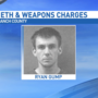Police arrest man in car full of meth, guns