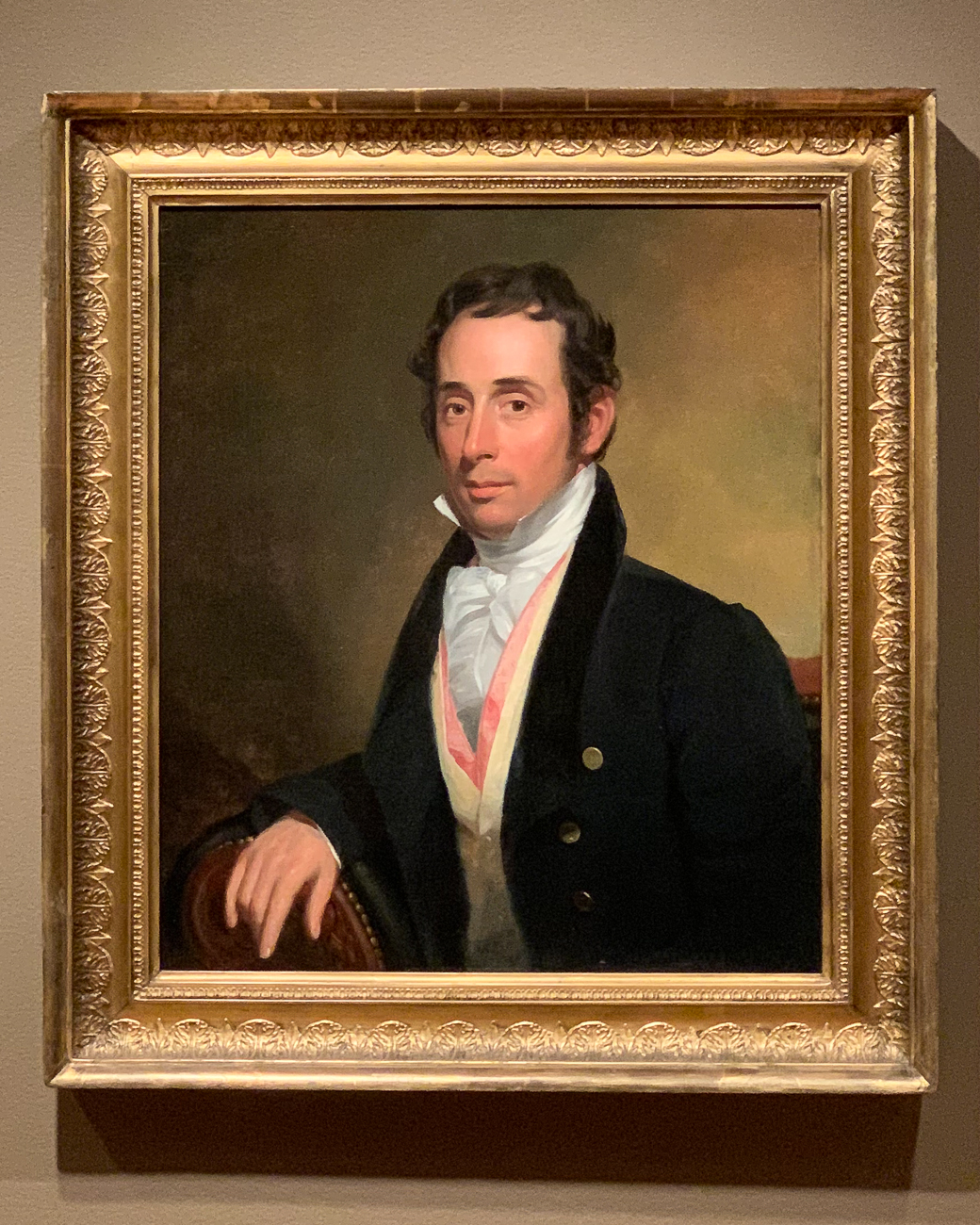 Painting by Caleb Bates circa 1820{ }/ Image: Phil Armstrong, Cincinnati Refined // Published: 10.4.20