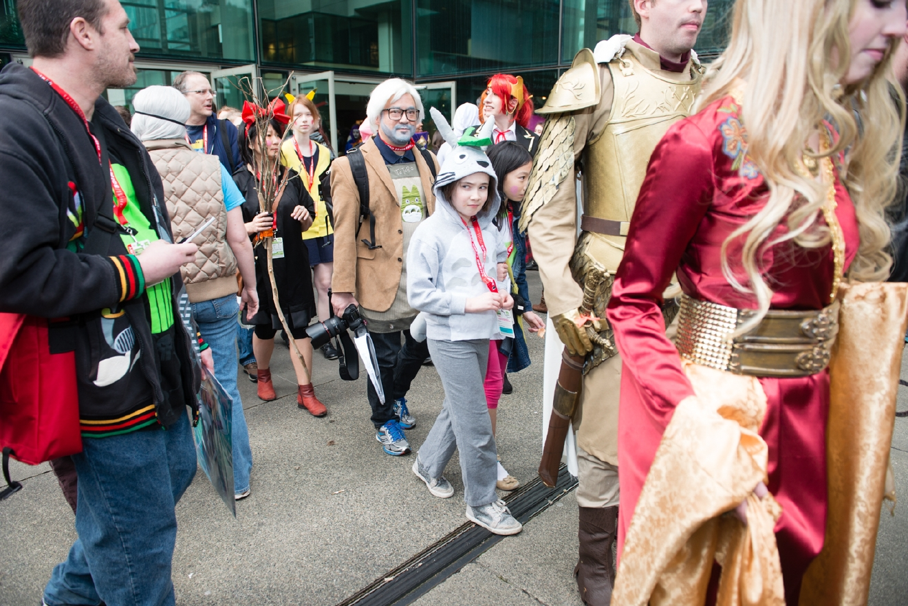 Three-quarters of the way through Emerald City Comicon, the largest comic book and pop culture convention in the Pacific Northwest - and fans are still going strong! Thousands are attending this weekend (March 2-5, 2017) at the Washington State Convention Center in Seattle for 4 days of cosplay, comic books, celebrities, panels and more. We'll be bringing you the spectacular sights and costumes of the thousands of attendees each day! Here are the looks from Day 3 (March 4, 2017). (Image: Chona Kasinger / Seattle Refined)