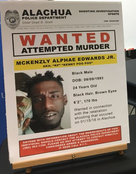 McKenzly Edwards is wanted for attempted murder<p></p>