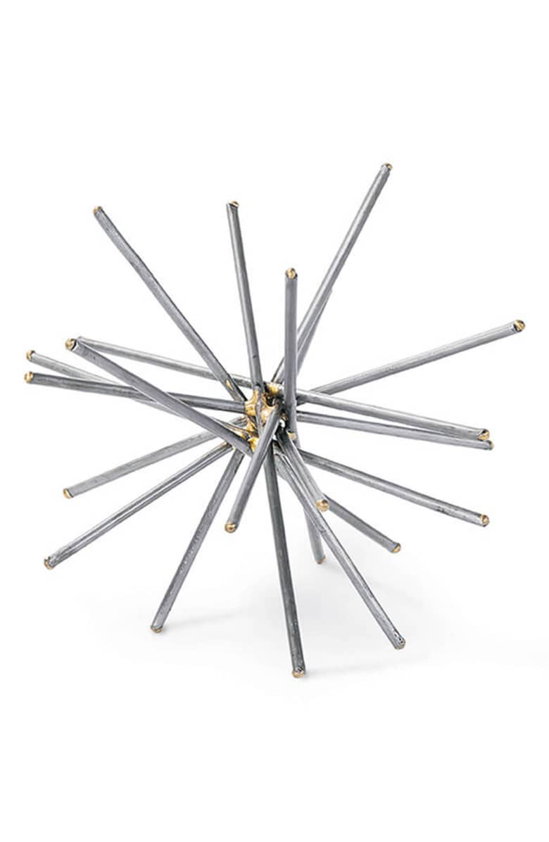 Regina Andrew Design Brazed Spike Ball Decoratioin, $73.{ }Ballin' on a budget this season? Nordstrom found priceless gifts all under $100. You're welcome! (Image courtesy of Nordstrom).