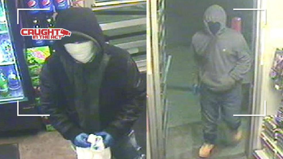 Crime Stoppers offering reward to find 2 masked robbers who
