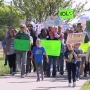 A group in Amarillo marches to defend science