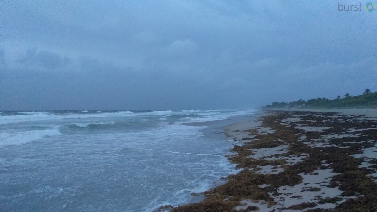 The calm before the storm at Boynton Beach, FL (Photo submitted via Burst)