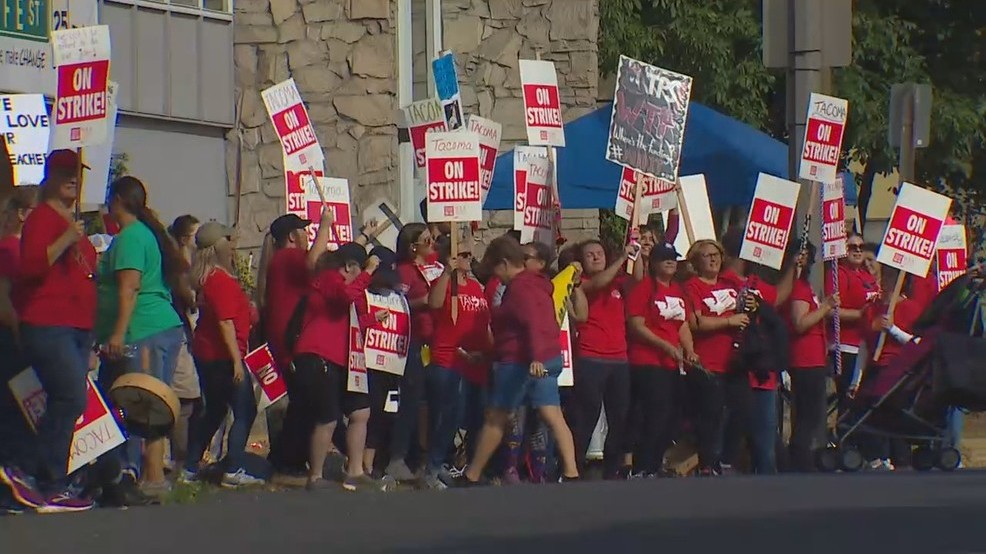 Tacoma schools announce deal to end teachers' strike