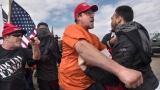Arrests after scuffle breaks out at California Trump rally