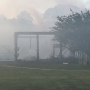 Only on 10: 'Suspicious' fire destroys therapeutic riding barn
