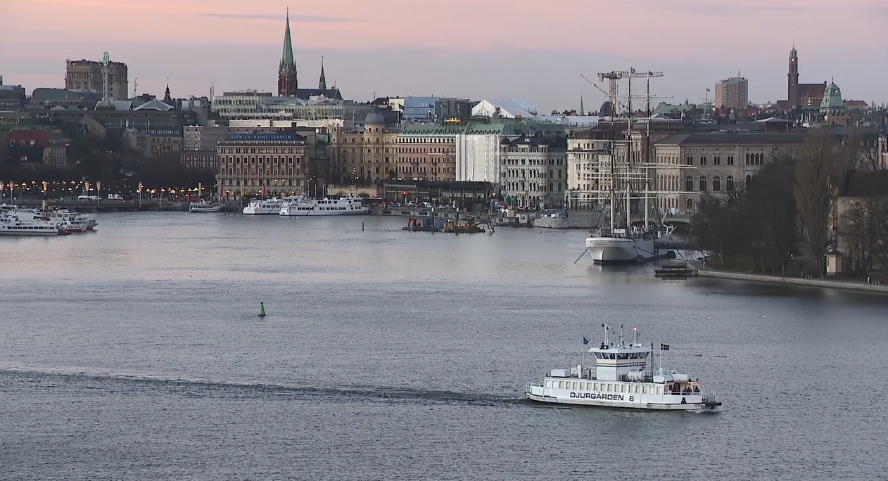 A view overlooks the city of Stockholm, Sweden. (Sinclair Broadcast Group)<p></p>
