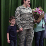 WATCH: Air Force Staff Sgt. surprises her son on last day of pre-K