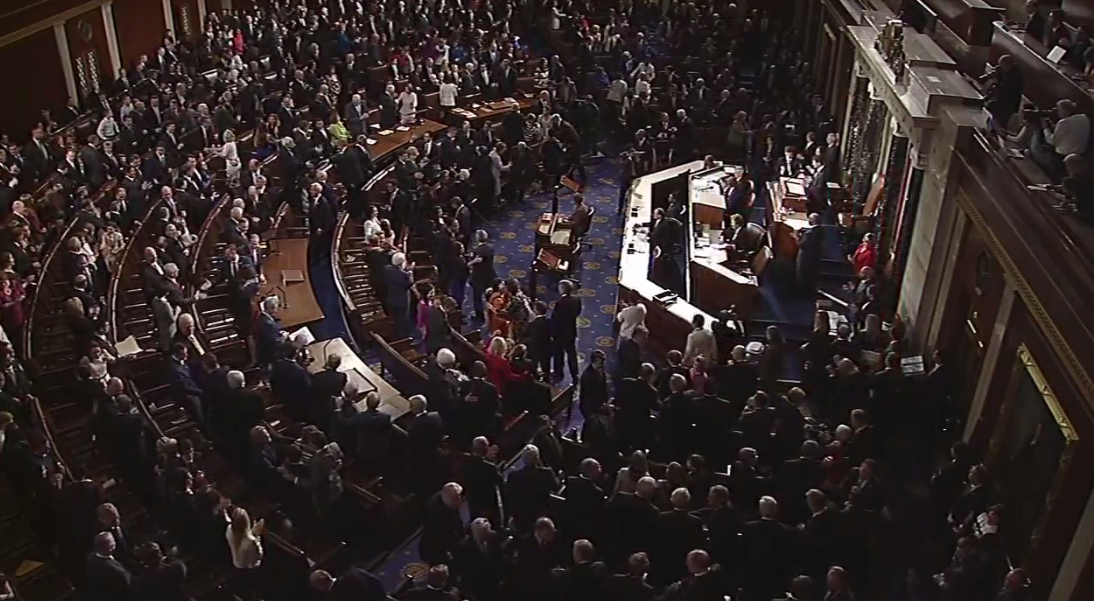 A new era began today as the 115th Congress was sworn in, including three Nevada freshmen (KSNV file)