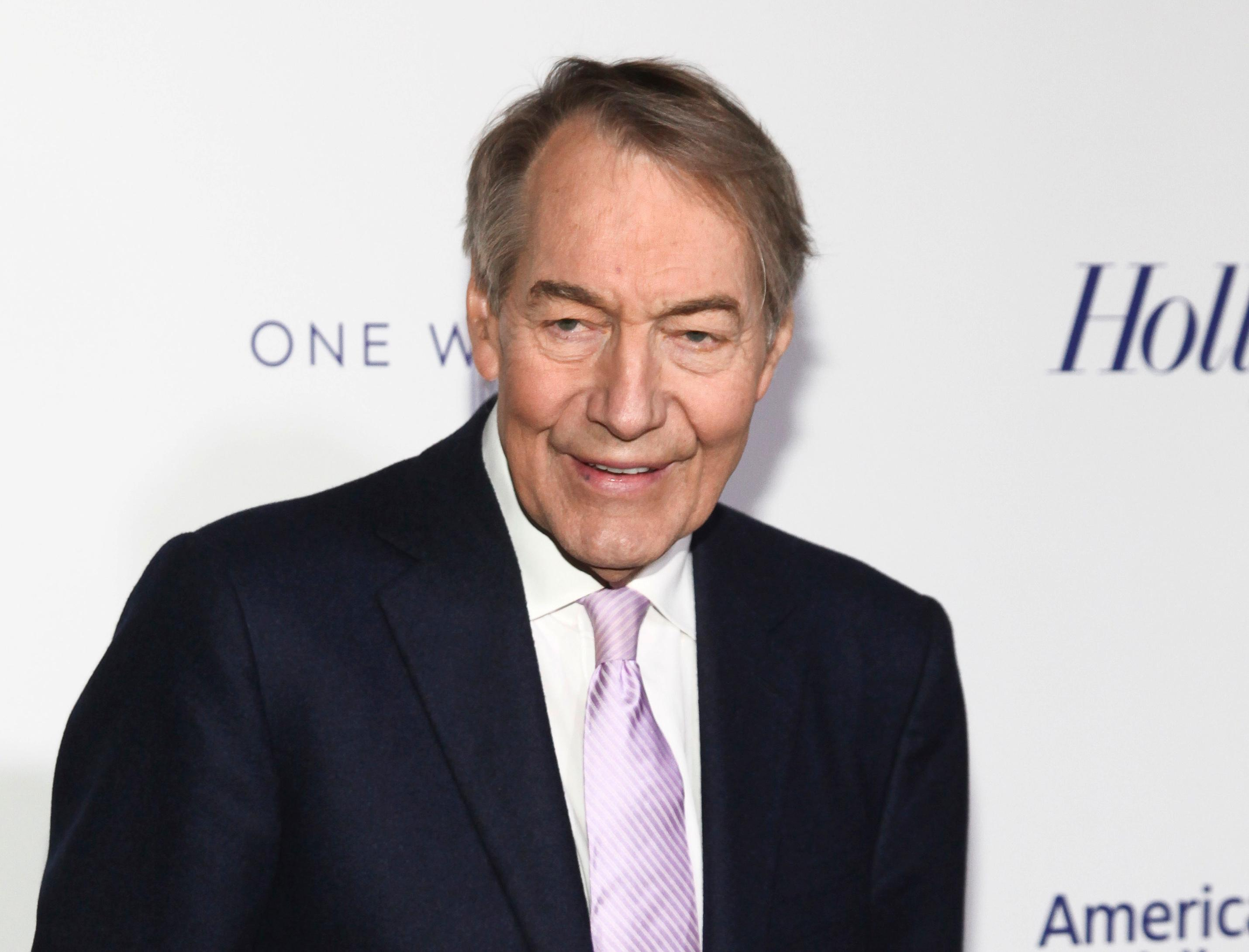 FILE - In this April 13, 2017 file photo, Charlie Rose attends The Hollywood Reporter's 35 Most Powerful People in Media party in New York. (Photo by Andy Kropa/Invision/AP, File)