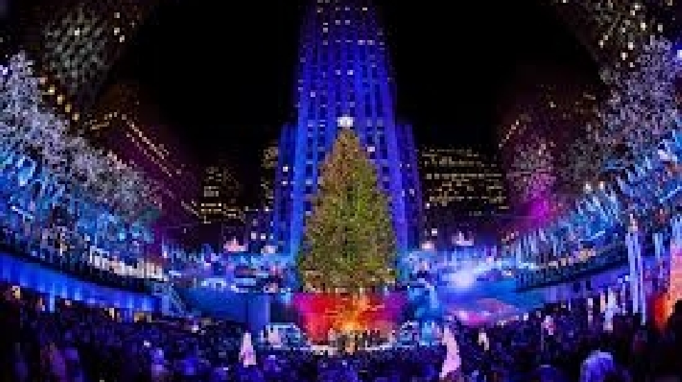 Rockefeller Center Christmas tree lighting ceremony tonight on NBC 3