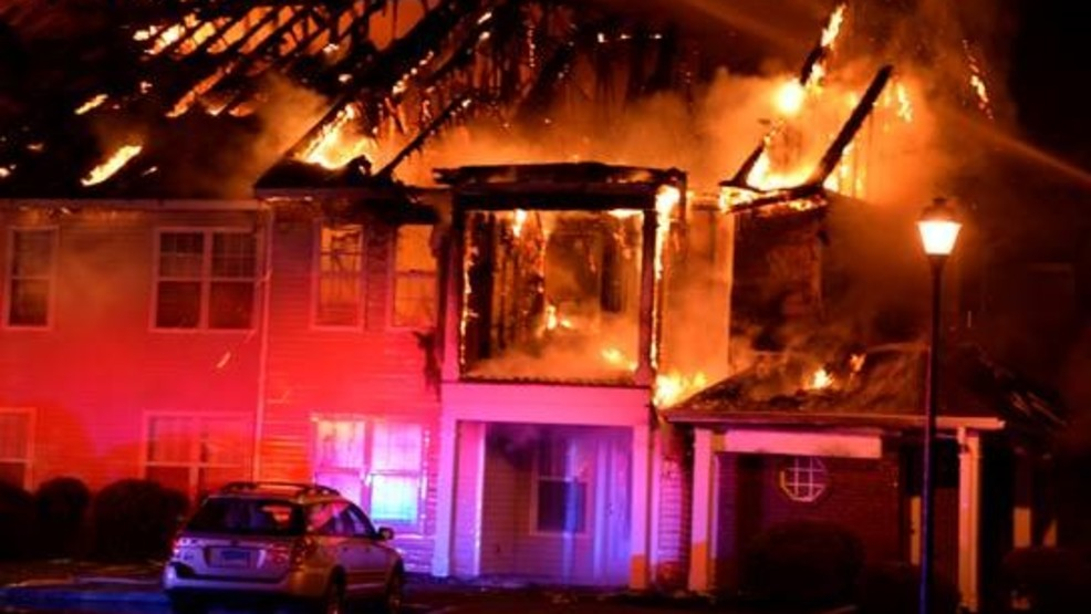 20 people displaced amid Henrietta apartment building fire ...