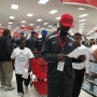 Gallery: North-South football players go on a shopping spree -- for a good cause